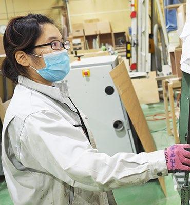戸田工場 入社3年